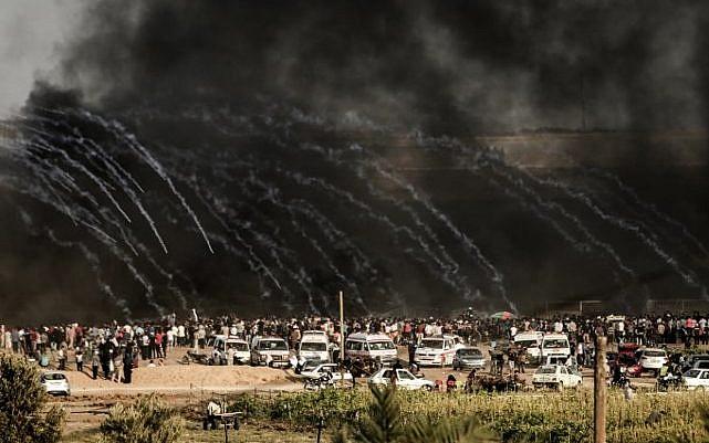 Двајца Палестинци загинаа во судир со израелската армија во Појасот Газа