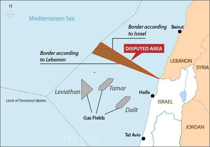 Нови предлози за решавање на израелско-либанскиот спор за наоѓалиштата на гас и нафта