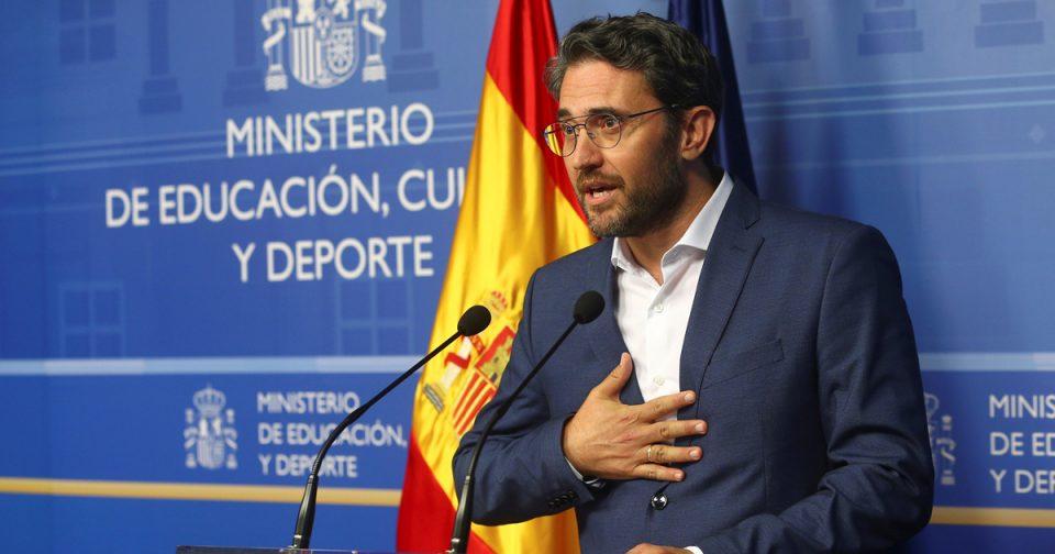 Не плаќал данок – Шпанскиот министер за култура поднесе оставка