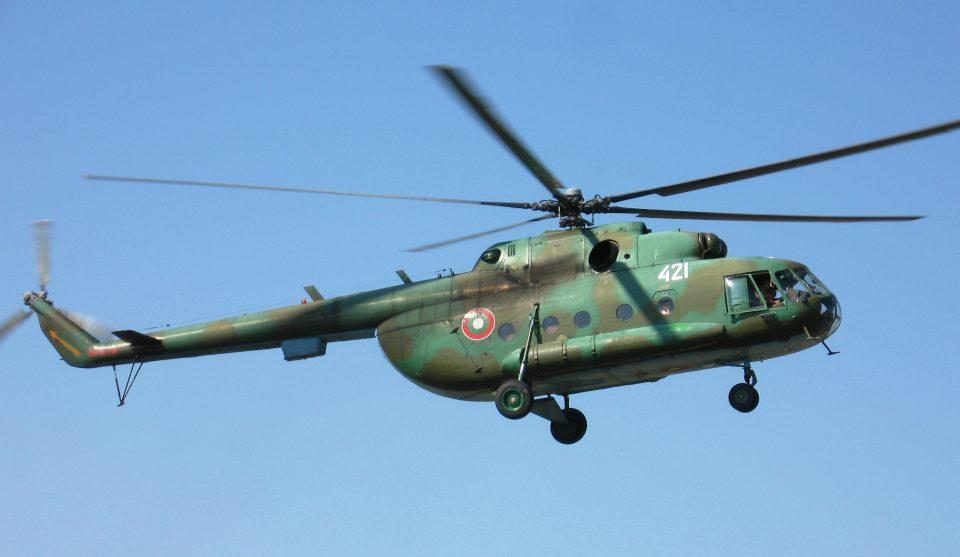 Се урна бугарски хеликоптер Ми-17