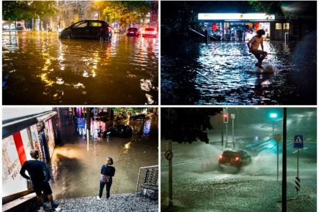 Во Швајцарија потоп – улиците изгледаат како бомба да паднала (ВИДЕО)