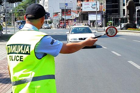 Полицијата санкционирала 91 возач, а 9 се исклучени од сообраќајот