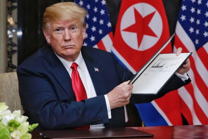 Трамп номиниран за Нобелова награда за мир