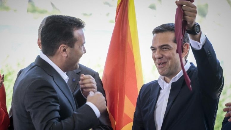 Ципрас: Кога им го менував името не размислував за политичката цена