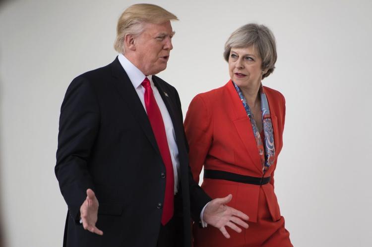 Доналд Трамп во Лондон: Имам чувство дека овде многу луѓе ме сакаат
