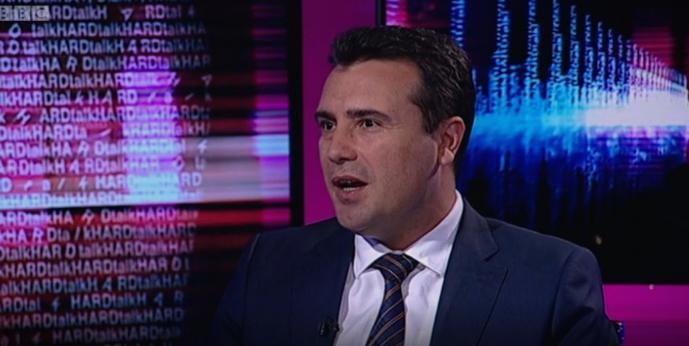 Заев за Би-Би-Си: Ги исполнивме сите грчки црвени линии, имаме ново име, географска одредница и ерга омнес решение