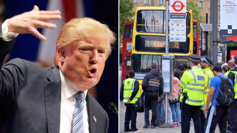 Доналд Трамп оди во Лондон, го чекаат демонстрации