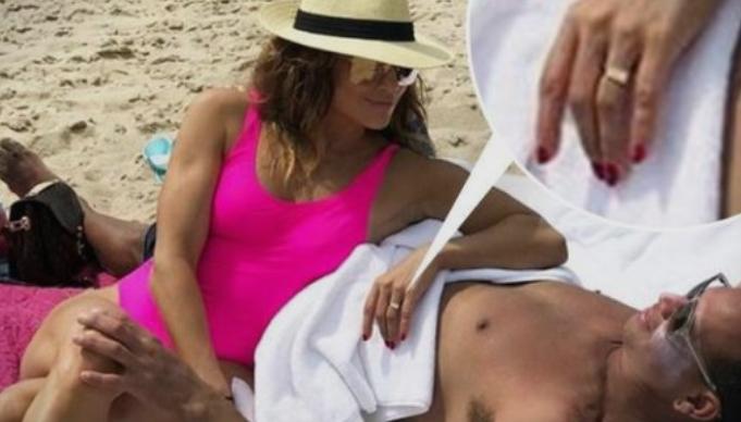 Џеј Ло со Алекс на плажа – но овој детаљ им падна во очи на сите (ФОТО)
