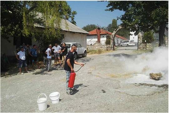 Општина Струга со апел до граѓаните за превенција од пожари