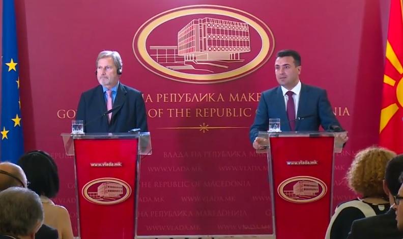 Скринингот официјално започна – Заев објави кој ќе ги води преговорите
