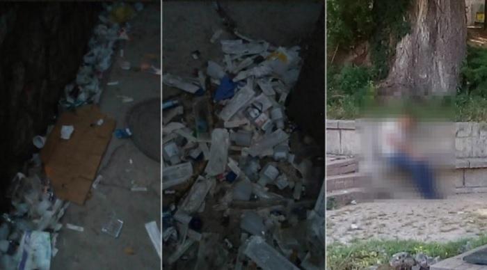 Граѓаните во страв – купишта шприцови, игли и друг медицински отпад околу скопскиот центар за зависници