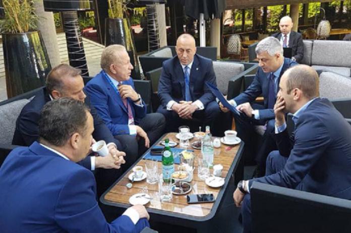 Тачи заедно со владејачките партии во среда во Брисел на преговори со Србија