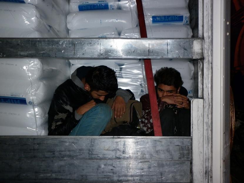 Приведени мигранти од Еритреја кај Штип