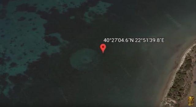 Нова мистерија: Гугл сними чуден објект во Егејско Море (ВИДЕО)