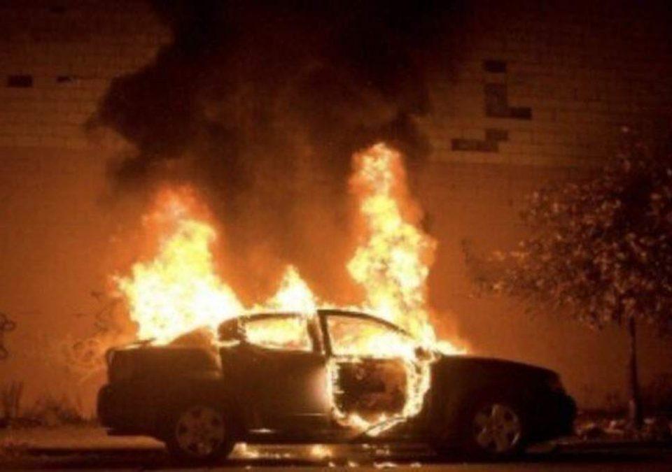 Кривична пријава за струмичанец – опожарил возило и побегнал