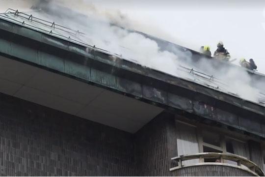 Изгаснат пожарот во хотел во центарот на Љубљана
