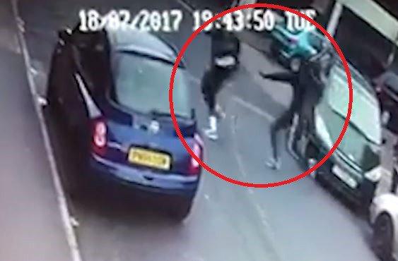 Поголема група нападнала 35 годишен скопјанец на ул.Павел Шатев
