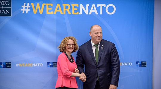 Нема членство во НАТО, но Шекеринска со НАТО потпиша Меморандум за разбирање