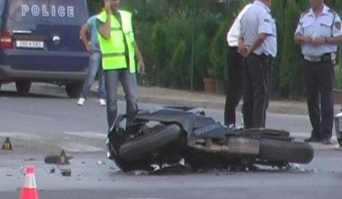 Сообраќајна несреќа во Скопје, тешко повреден мотоциклист