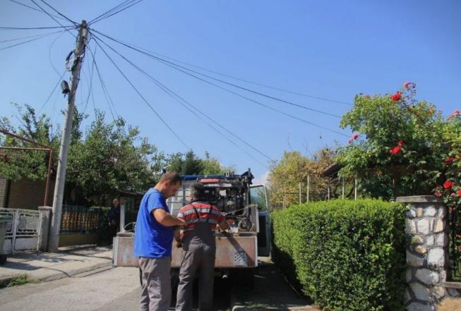 Во населба Лисиче целосна обнова на осветлувањето