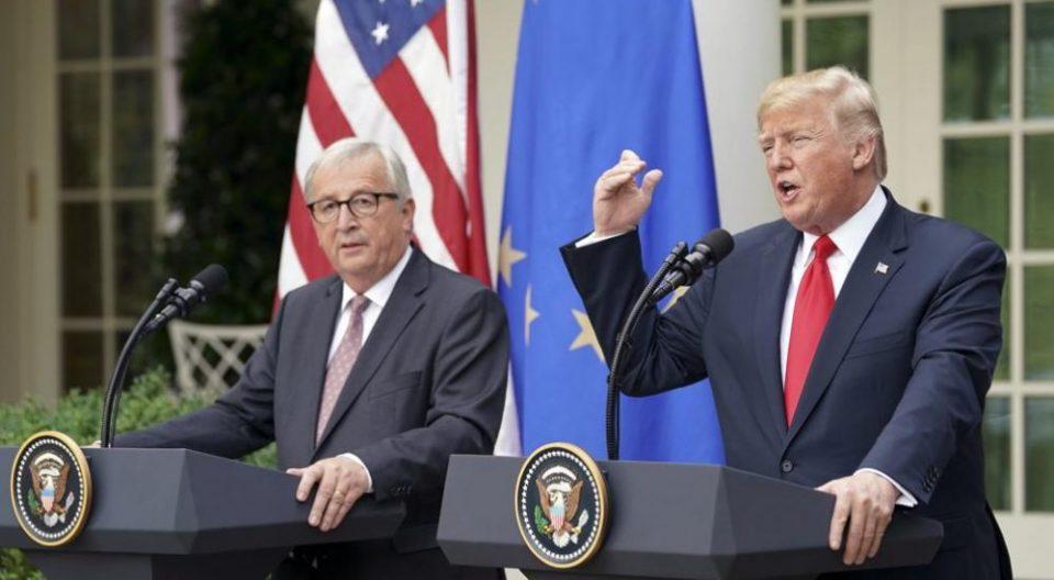 Јункер: Трамп нема да воведе нови царини за увоз на европските возила