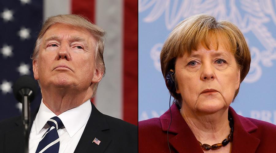 Меркел: Виновник за насилствата е Трамп бидејќи не го призна поразот