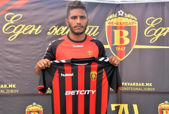 Вардар потпиша со Бразилецот Лира