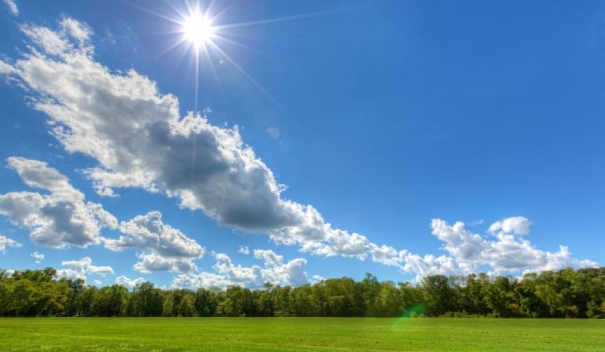 Денеска сончево со мала до умерена облачност