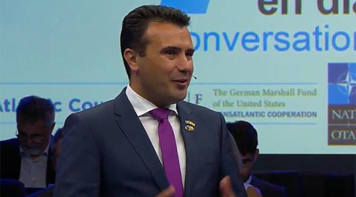 Заев: Радувај се Македонијо – портите за членство во НАТО се отворени
