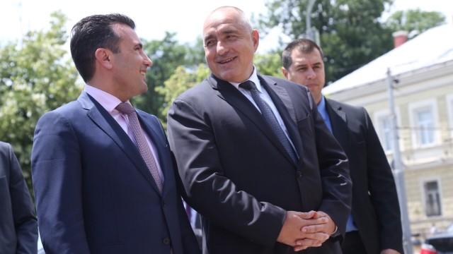 Борисов му се закани на Заев со ВЕТО од Бугарија за ЕУ