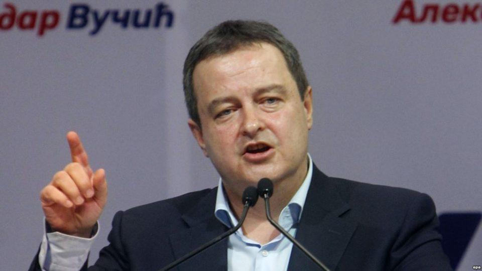 Дачиќ: Го подржувам Вучиќ за разграничувањето, тоа е единствено можно решение