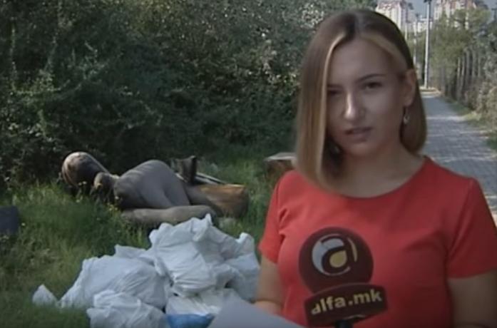 Андоновска: Карпош тоне во смет а Богоев е неспособен да ја одржува комуналната хигиена