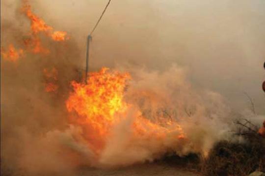 На грчки острови избија пожари и евакуирани се две села