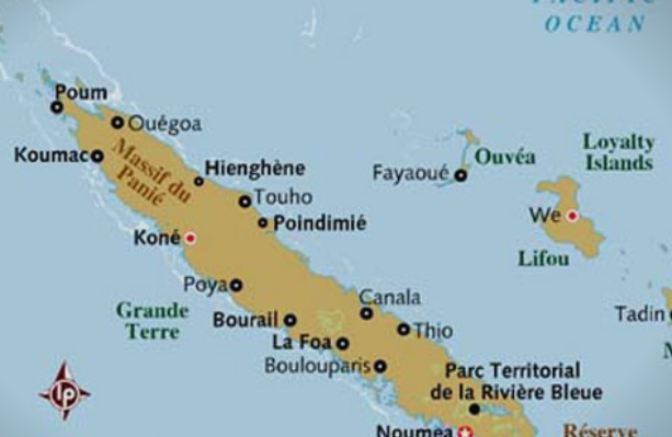 Предупредување за појава на цунами на Нова Каледонија