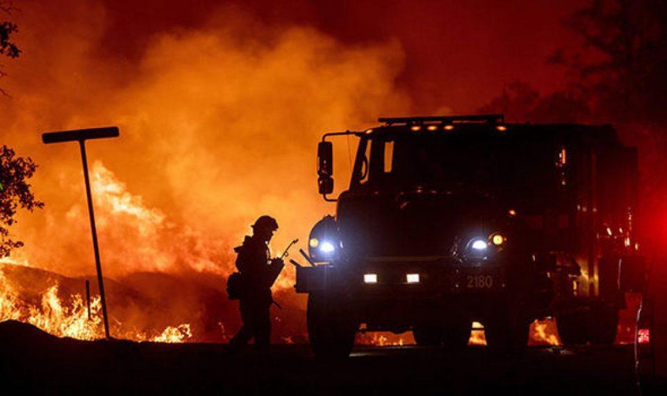 На грчкиот остров Евија избувна пожар