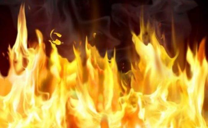 Запалени картонски кутии опожарија комбе на скопјанец