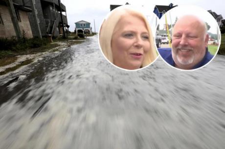 Романтика среде ураган во САД – тие ќе кажат ДА и покрај најавите за катастрофа (ФОТО)