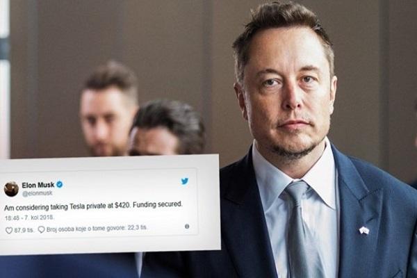 Илон Маск доби тужба за лажни твитови