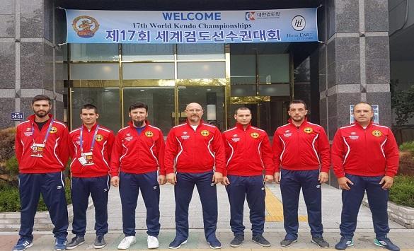 Македонската Кендо репрезентација на Светско првенство во Јужна Кореја