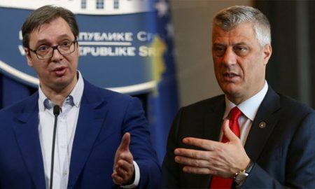Вучиќ и Тачи во Брисел во обид да најдат компромис
