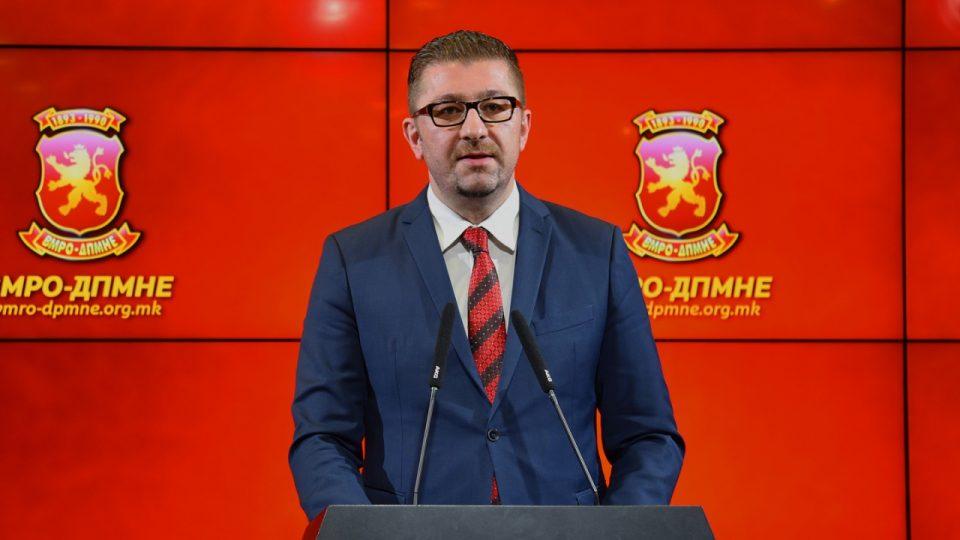 Мицкоски: Владата на Заев не може да го оствари економскиот раст кој самите си го зададоа