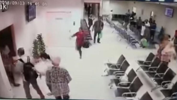 Малезија: Маж фрли молотов коктел во болница (ВИДЕО)