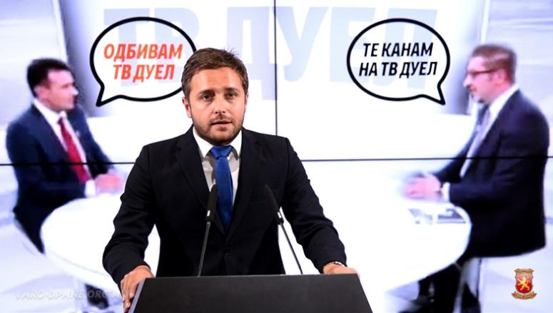 Арсовски: Заев бега од дебата за референдумот