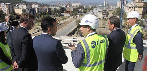Почна изградбата на подземната сообраќајница кај Јужен булевар и станбено-деловниот комплекс