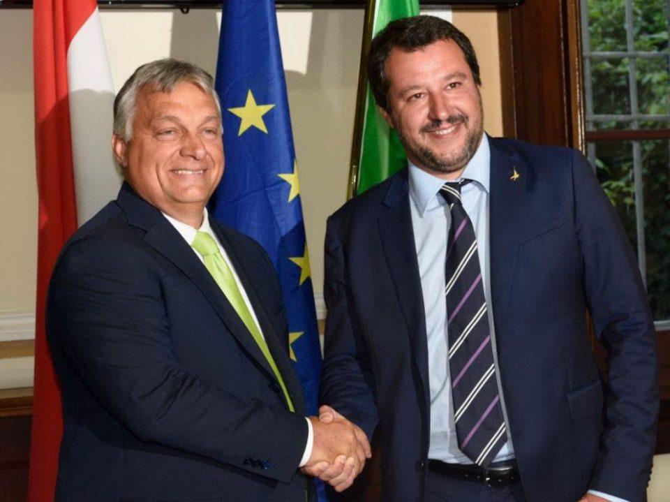 Орбан и Салвини: Нашите сродни политички партии наскоро ќе владеат со цела Европа