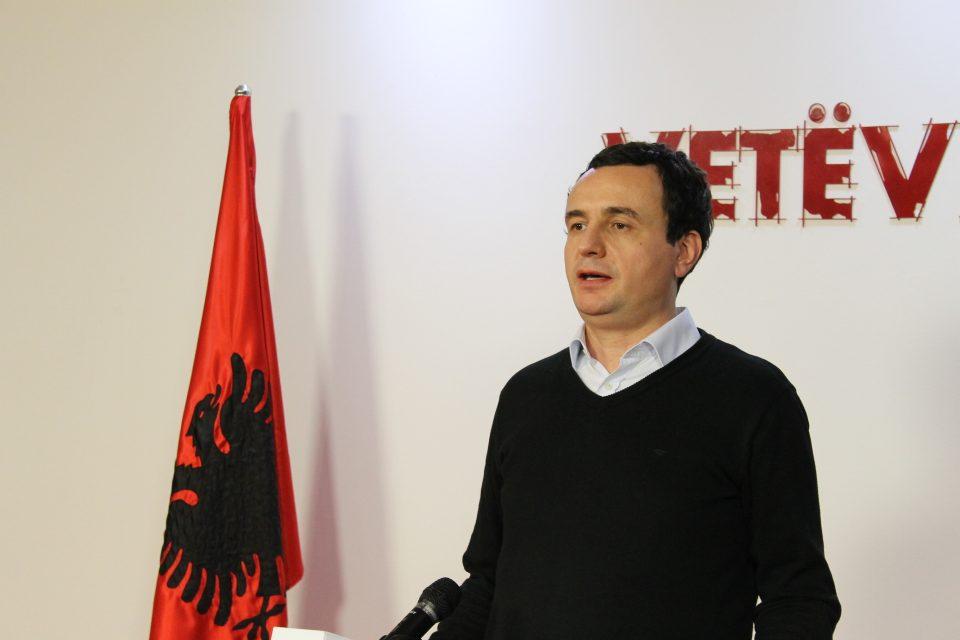 Албин Курти: Тачи тргува со судбината на Косово