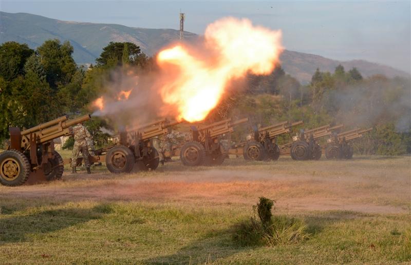Утре артилериска стрелба по повод Денот на независноста
