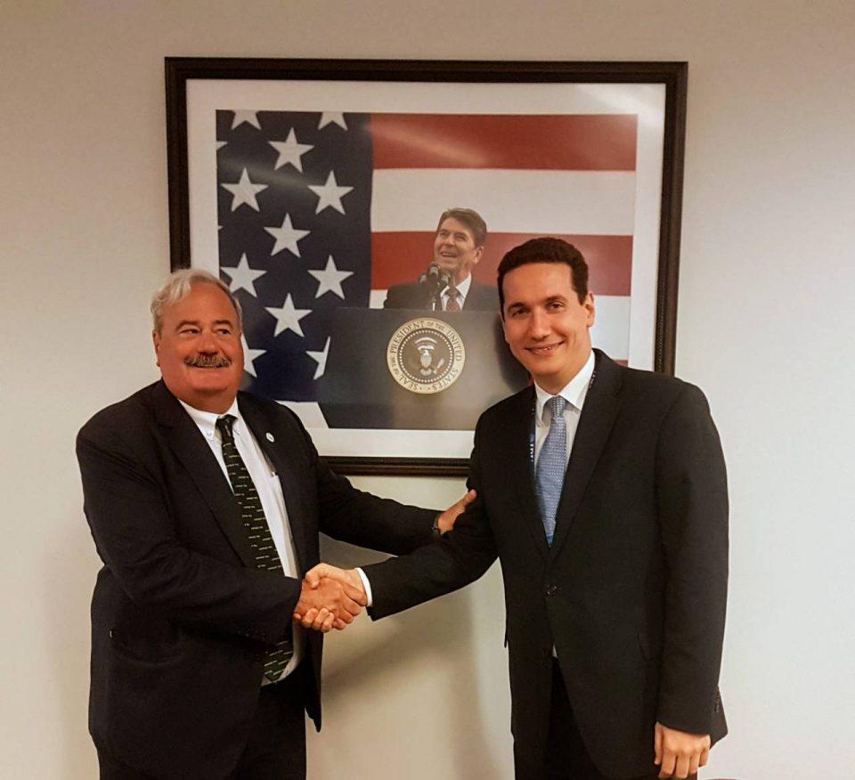Ѓорчев во САД на средби со Републиканската партија и ИРИ