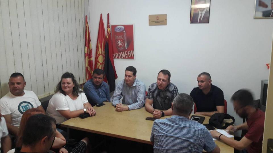 Влатко Ѓорчев во Виница: Народот е разочаран во оваа влада, и таа нема да владее уште долго