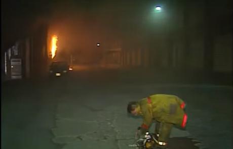 Кај Марков Манастир голем пожар